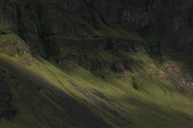 Paysage d'Islande.