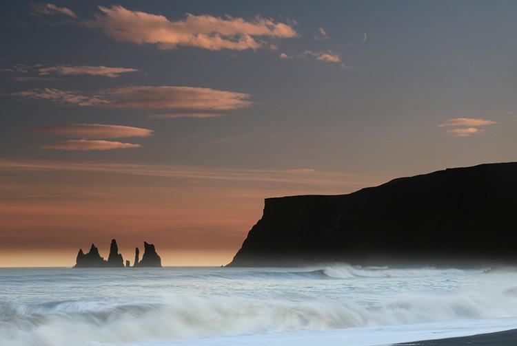 Prés de Vik (Islande).