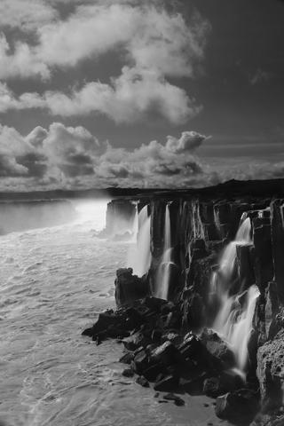 Chutes de Selfoss (Islande).