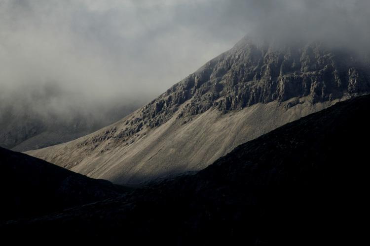 Paysage des Highlands (Ecosse).